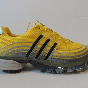 Adidas Powerband Men's Golf Shoes Yellow 11 W NEW